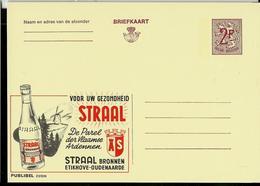 Publibel Neuve N° 2310  ( Eau Minérale STRAAL - Oudenaarde - Moulin) - Stamped Stationery