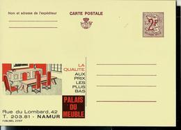 Publibel Neuve N° 2315  ( PALAIS DU MEUBLE  à Namur) - Stamped Stationery