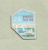 """Magnets. Magnets """"Le Gaulois"""" Départements Français. Ile De Paris (78-91-92-95) - Publicitaires"""