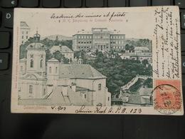Banská Štiavnica SELMECZBANYA MAI 1903 ACADEMIE DES MINES ET FORÊTS BANYASZATI ES ERDESZETI AKADEMIA - Slovaquie