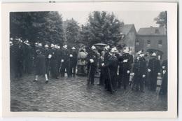 Pompiers, Gendarmes? Mons 1953 Tirage Original D'époque. FG0389 - Places