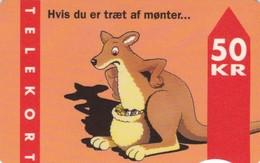 Denmark, FD 008A, Kangaroo, 2 Scans.      Serial Number: 3103 000001-020000 - Denemarken