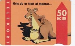 Denmark, FD 008B, Kangaroo, 2 Scans.      Serial Number: 3103 020001-070000 - Denemarken