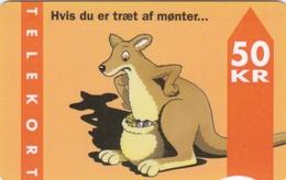 Denmark, FD 008C, Kangaroo, 2 Scans.      Serial Number: 3104 00001-035000 - Denemarken
