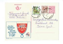 Publibel 2778 - LANDWIJNEN  - 0429 - Stamped Stationery