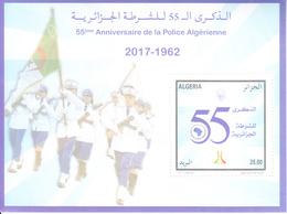 2017 Algeria Police Anniversary Souvenir Sheet MNH - Kenya (1963-...)