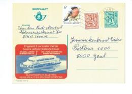 Publibel 2788 - OOSTENDE-DOVER  - 0431 - Stamped Stationery
