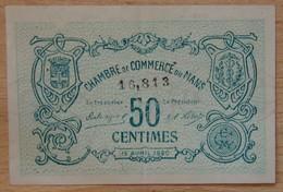 LE MANS ( 72  ) 50 Centimes Chambre De Commerce Du Mans 15 AVRIL 1920 - Chambre De Commerce