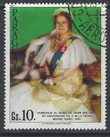 Paraguay Aereo U  876 (o) Usado. 1981 Reina Isabel - Paraguay