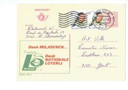 Publibel 2605 - NATIONALE LOTERIJ  - 0432 - Stamped Stationery
