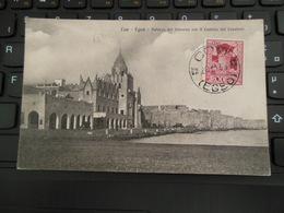 20 NOV 1933 COO EGEO SUR TIMBRE RODI PALAZZO DEL GOVERNO CON IL CASTELLO DEI CAVALIERI - Egée (Coo)