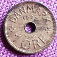 DENEMARKEN : 1 ORE 1927 HCN KM 826.1 - Danimarca