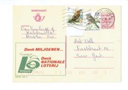 Publibel 2605 - NATIONALE LOTERIJ  - 0434 - Stamped Stationery