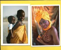 CPM  SENEGAL : Jeunes Femmes Et Enfants - Senegal