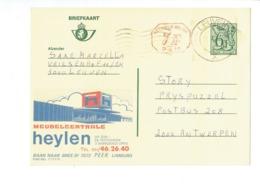 Publibel 2763 - MEUBELCENTRALE HEYLEN - 0436 - Stamped Stationery