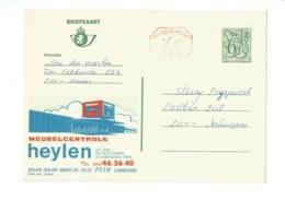 Publibel 2746 - MEUBELCENTRALE HEYLEN - 0437 - Stamped Stationery