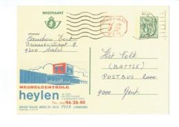 Publibel 2763 - MEUBELCENTRALE HEYLEN - 0439 - Stamped Stationery