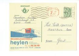 Publibel 2763 - MEUBELCENTRALE HEYLEN - 0440 - Stamped Stationery