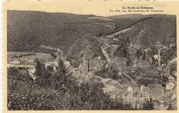 LA ROCHE EN ARDENNE / LA VILLE VUE DES HAUTEURS DE CORUMONT - La-Roche-en-Ardenne