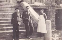 Carte Photo  : Font Romeu (66) Convalescent Quittant Le Sanatorium    1941 - Places