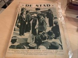 DE STAD - Weekblad Voor Vlaanderen - 2 Juni 1939 - Libri, Riviste, Fumetti
