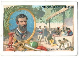 CHROMO - CHOCOLAT IBLED - Savorgnane De Brazza - Ibled