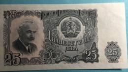 Billet Bulgarie 25 Leva - Bulgarien