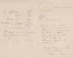 CONDE SUR HUISNE BEZARD CORDAGES EN TOUS GENRES ARTICLES DE PECHE ANNEE 1917 ENTETE AVEC TAMPON - Sin Clasificación