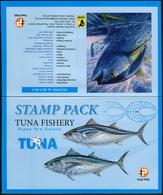 Papua New Guinea 2016. Tuna Fishing In Papua New Guinea (MNH OG) Set Of 4 Stamps - Papua-Neuguinea