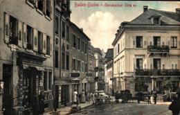 Baden-Baden Gernsbacher Straße Mit Pferdekutsche Ugl - Baden-Baden