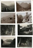 PHOTO ANCIENNE 1929 ALLEVARD LES BAINS Isère Montagne Groupe Famille Lot 8 Photos - Places