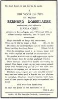 Bernard Dobbelaere - ° Lovendegem 1876 + Lovendegem 1954 - Devotion Images
