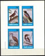 {ST340} Birds XXIII Imperf. Sheet Of 4 MNH** LABEL Cinderella !! - Fantasie Vignetten