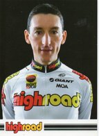 CYCLISME   Tour De France MARCO PINOTTI HIGH ROAD 2008 - Wielrennen