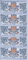 BHOUTAN 1 NGULTRUM 2013 UNC P 27 ( 5 Billets ) - Bhoutan