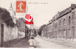 SAINT SAULVE - Rue Hamoir - Other Municipalities