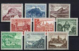 .DR 1939 // Mi. 730/738 * - Allemagne