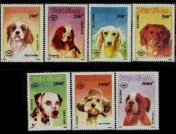 Vietnam MNH Sc 2098-04 Mi 2168-74 Dogs New Zealand 1990 - Vietnam