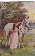 AK Gute Kameraden - Frau Mit Pferd - 1919  (48796) - Frauen
