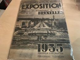 Wereldtentoonstelling Van Brussel - Exposition Universelle 1935 - Nummer 2 - Mars 1935 - Libros, Revistas, Cómics