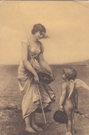 AK Frau Mit Putto - Ca. 1910  (48799) - Frauen