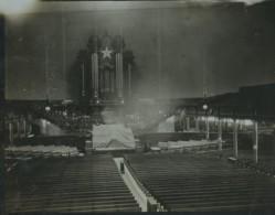 USA Salt Lake City Temple Mormon Interieur Ancienne Photo 1904 - Places