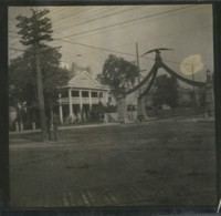USA Salt Lake City Monument Eagle Gate Aigle Ancienne Photo 1904 - Places