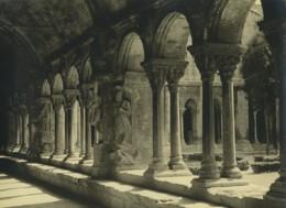 France Arles Cathédrale Sainte Trophime Cloitre Galerie Ancienne Photo 1947 - Places