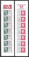 BC 24 Deux Bandes Carnets 2865 Et 2935 Journées Du Timbre De 1994 Et 1995 N++ - Journée Du Timbre