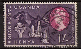 Uganda Kenya Tanganyika - #129 Used - Kenya, Uganda & Tanganyika