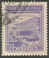 252 Chili Mineria Minerai Mines Mining Miner (CHL-69) - Minéraux