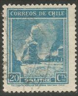 252 Chili Mines Mining Miner Salitre Salpêtre Saltpeter (CHL-70) - Minéraux