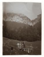 PHOTO ANCIENNE La Grande Chartreuse 1931 Montagne Paysage Photographe Appareil Photo Trépied Autoportrait - Places