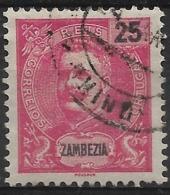 Zambezia – 1903 King Carlos 25 Réis - Zambèze